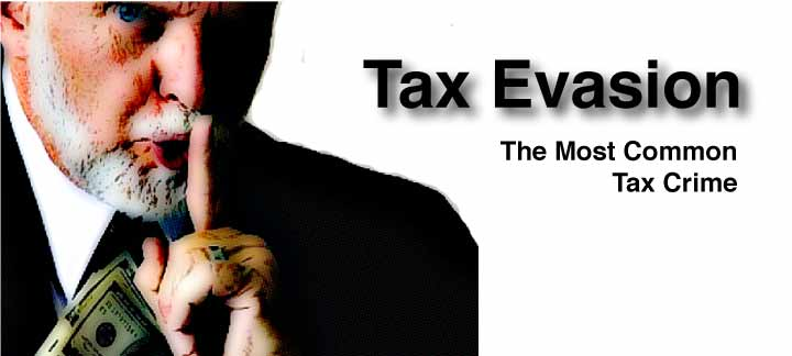 tax evasion is the most common tax crime