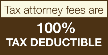 tax attorney fees are tax deductible