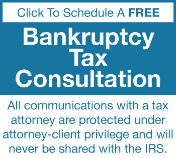 bankruptcy tax consultation
