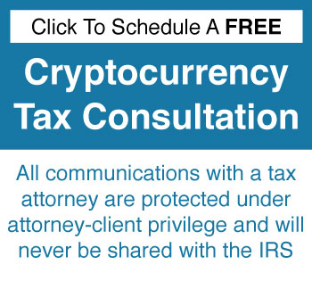 Cryptocurrency Tax Consultation