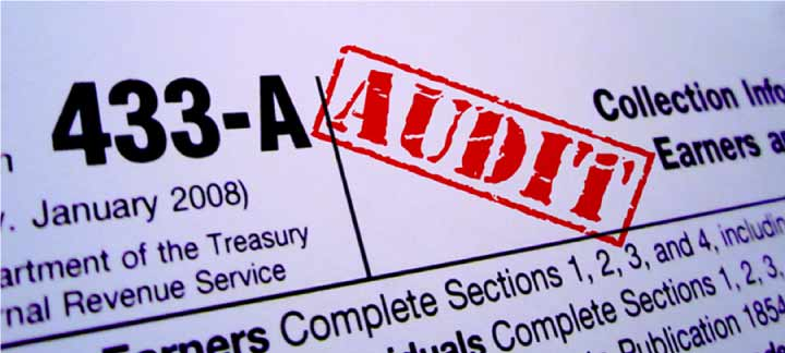 how do you know if the irs is auditing you