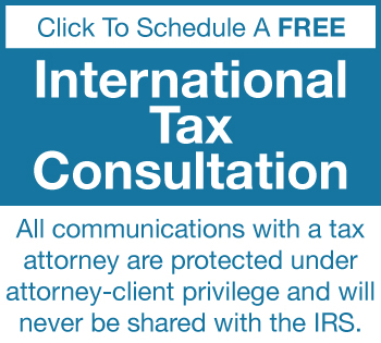 international tax consultation