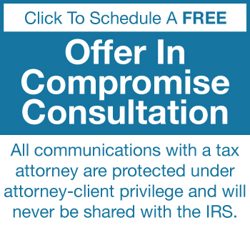 offer in compromise consultation
