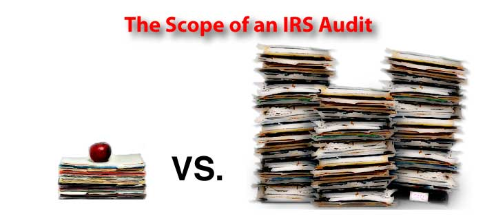 the scope of an irs audit