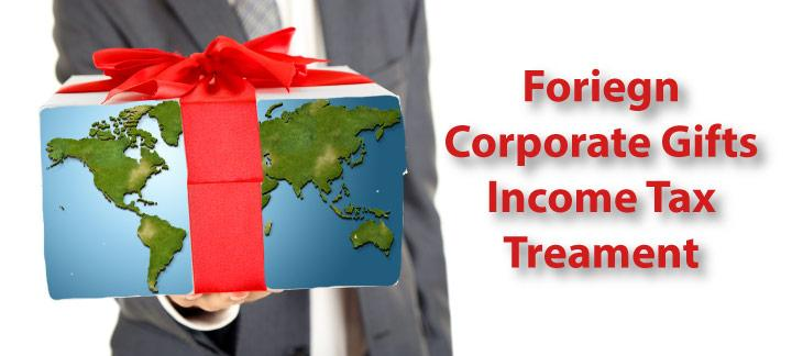 Gifts from Foreign Corporations Included as Gross Income