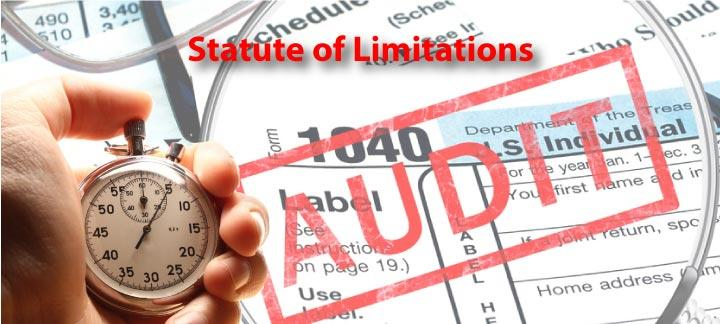 IRS audit stature of limitations