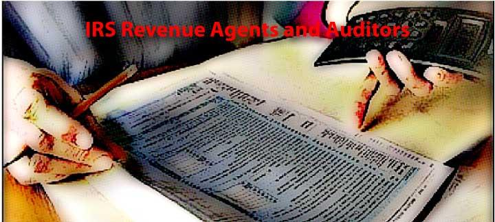 IRS Revenue Agents and Auditors