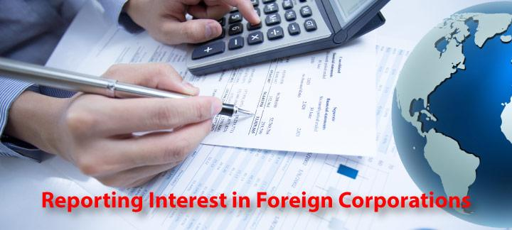 Reporting Requirements for Interest in Foreign Corporations