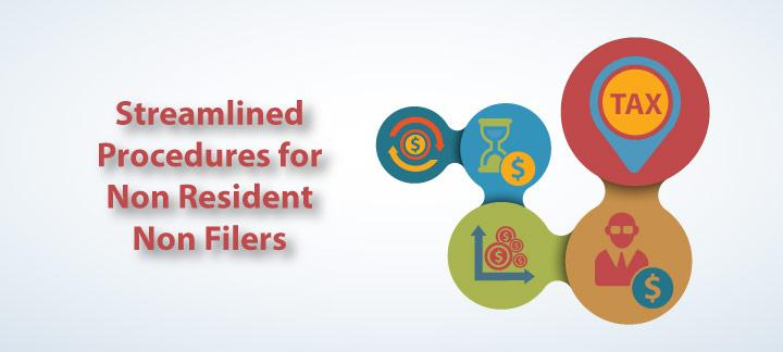 Streamlined Procedures for Non-Resident Non-Filers