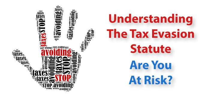 Understanding the Tax Evasion Statute