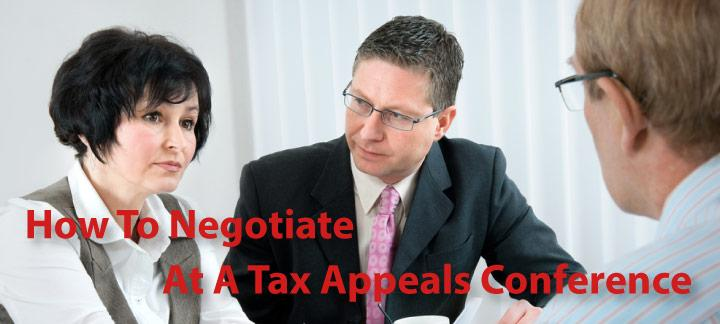 How to Negotiate with a Tax Appeals Officer