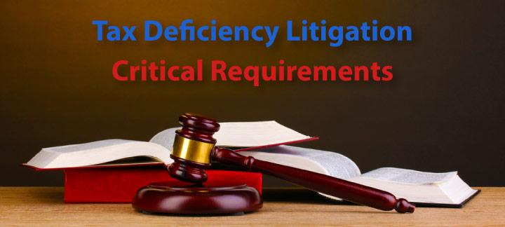 Jurisdictional and Procedural Requirements in Deficiency Litigation