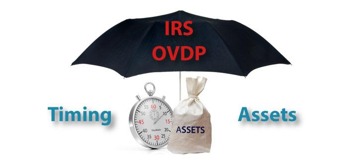 Timing and Asset Considerations under the OVDP