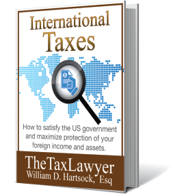 International Taxes - book written by William D. Hartsock, Esq.