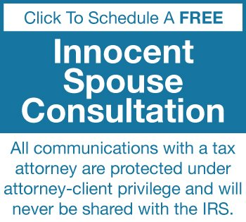 innocent spouse consultation